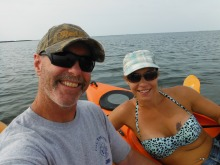 Kayaking on Hatteras Island, NC