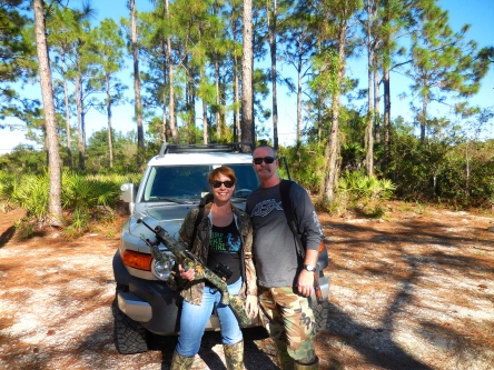 Hog hunting, Florida