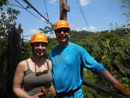Ziplining, Belize
